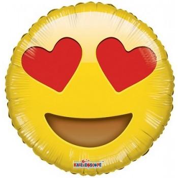 Palloncino in Lattice Rotondo 12,5 cm. Oro Metallizzato
