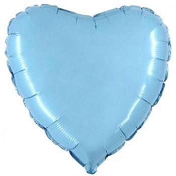 Palloncino in Lattice Cuore 12,5 cm. Arancio