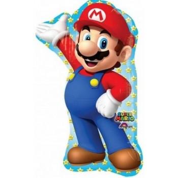 Palloncino Mylar Super Shape 53 cm. Robot Train Kay
