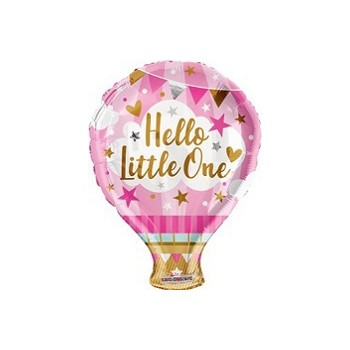 Palloncino in Lattice Rotondo 30 cm. Stampa I Love You