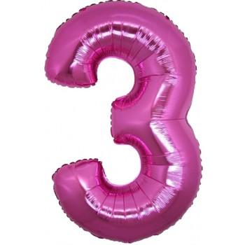 Palloncino Mylar 45 cm. Stella Verde Tiffany