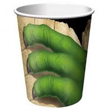 Palloncino in Lattice Mongolfiera 80 cm. Rosso - Round