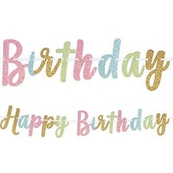 Palloncino Mylar 45 cm. Battesimo Baby Bear Azzurro