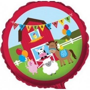 Palloncino Mylar 45 cm. Battesimo Baby Bear Rosa