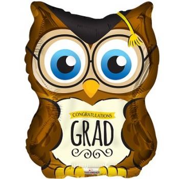 Palloncino Mylar Micro 11 cm. Stella Argento
