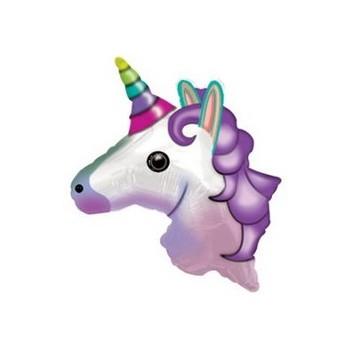 Palloncino Mylar Numero 8 Medio - color Fucsia - 41 cm.