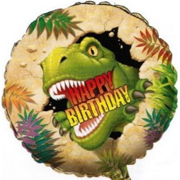 Palloncino Mylar 45 cm. Mother's Day Pink with Daisies