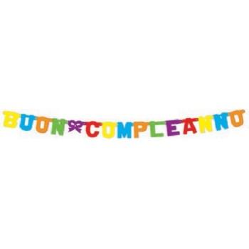 Palloncino Mylar 45 cm. Happy Birthday Pink Lav Dazzleloon
