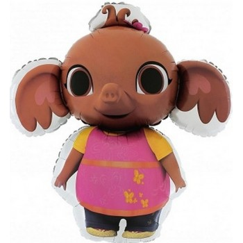 Palloncino Mylar Mini Shape 22 cm. Happy Birthday Rose Gold