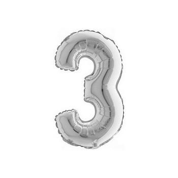 Palloncino Mylar Micro 10 cm. Festive Balloons