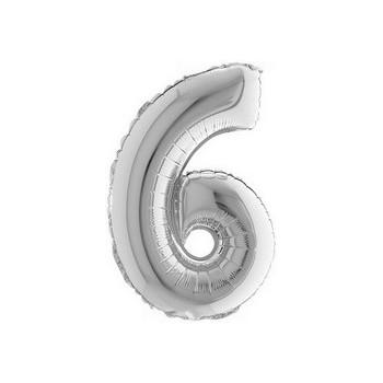 Palloncino Mylar Micro 10 cm. Smiling Santa Star