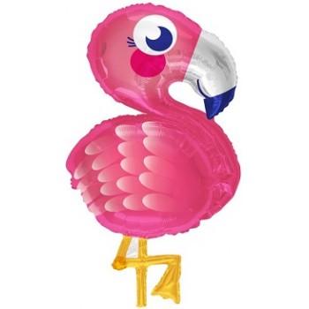 Palloncino Mylar 45 cm. I Love You Black