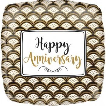 Palloncino Mylar 45 cm. Birthday with Cupcake Neon Gellibean