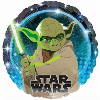 Palloncino Mylar 45 cm. Birthday Unicorn Silhouette