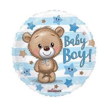 Palloncino Mylar Mini Shape 30 cm. Spider Skull Dude