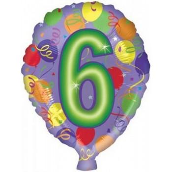 Palloncino Mylar Micro 10 cm. Sunglasses Emoji