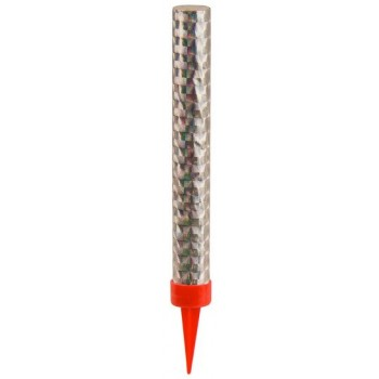 Palloncino Mylar 45 cm. Pink & Silver 80 Happy Birthday