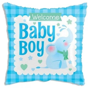 Palloncino Mylar 45 cm. Happy New Year Gold