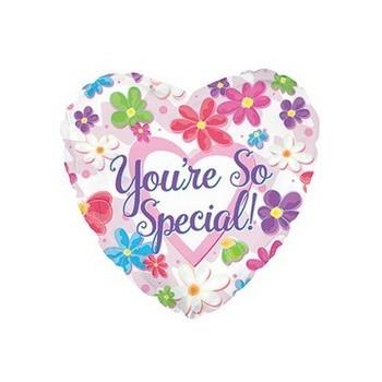 Palloncino Mylar Super Shape 71 cm. Minnie 1° Birthday