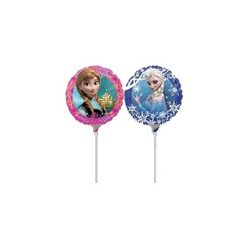 Palloncino Mylar Mini Shape 22 cm. Anna and Elsa Frozen