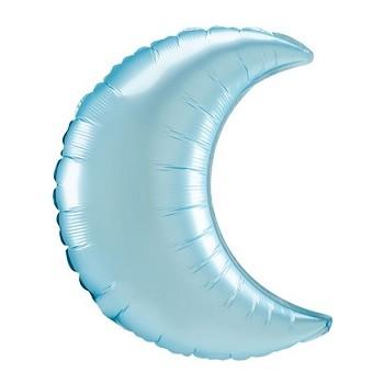 Palloncino Mylar Numero 0 Medio - color Blu - 41 cm.