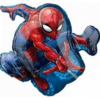Palloncino Mylar Numero 5 Medio - color Blu - 41 cm.