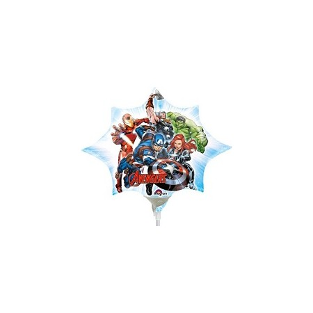 Palloncino Mylar Mini Shape 27 cm. Avengers Assemble