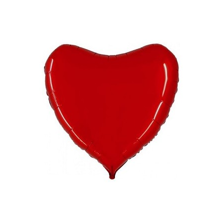Palloncino Mylar Jumbo 81 cm. Cuore Rosso