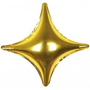 Palloncino Mylar 60 cm. Starpoint Oro