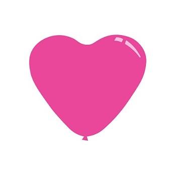 Palloncino Mylar Mini Shape 23 cm. Cuore Arancio