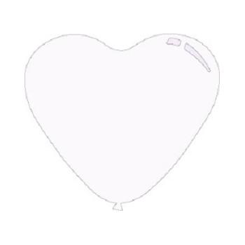 Palloncino Mylar Mini Shape 23 cm. Cuore Oro