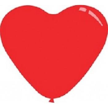 Palloncino Mylar 45 cm. Cuore Rosa Satinato
