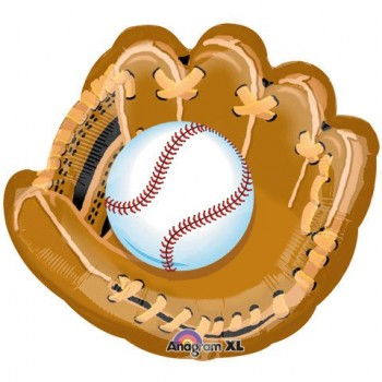Palloncino Mylar Super Shape 78 cm. Baseball And Glove