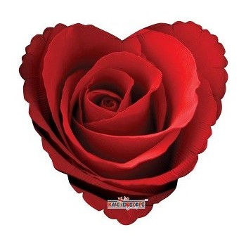 Palloncino Mylar 45 cm. Classic Rose
