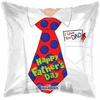 Palloncino Mylar 45 cm. Father's Day Tie
