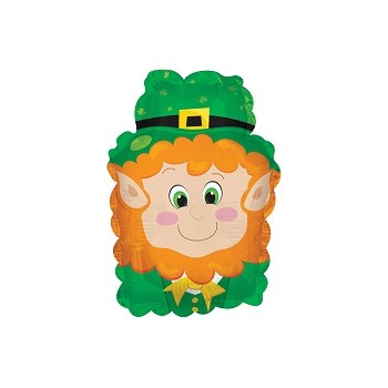 Palloncino Mylar Mini Shape 22 cm. Happy Leprechaun