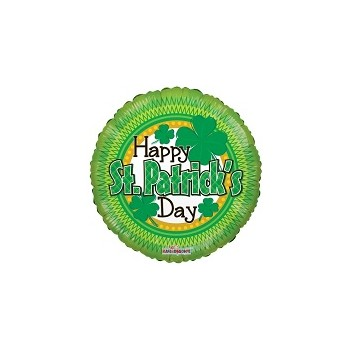 Palloncino Mylar Mini Shape 22 cm. Happy St Patrick's Day