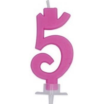 Palloncino Mylar 45 cm. Birthday Pink Flamingo