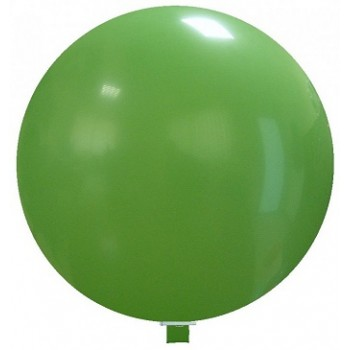 Palloncino in Lattice Mongolfiera 80 cm. Verde Scuro - Round