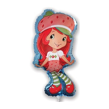 Palloncino Mylar Mini Shape 22 cm. Strawberry Shortcake