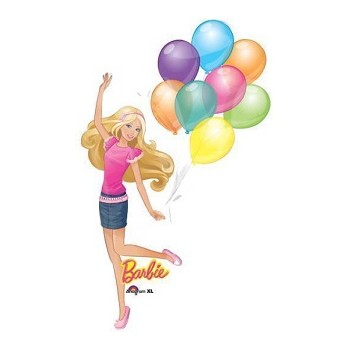 Palloncino Mylar Mini Shape 35 cm. Barbie