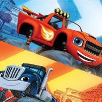 Palloncino Mylar 45 cm. Cuore Azzurro Satinato