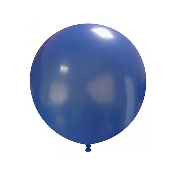 Palloncino in Lattice Rotondo 48 cm. Blu Scuro