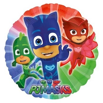 Palloncino Mylar 45 cm. Super Pigiamini - PJ Masks