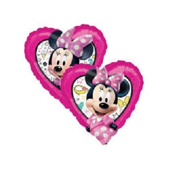 Palloncino Mylar Mini Shape 27 cm. Minnie Happy Helpers