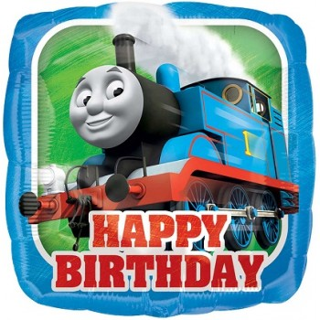 Palloncino Mylar 45 cm. Thomas The Tank Engine HBD