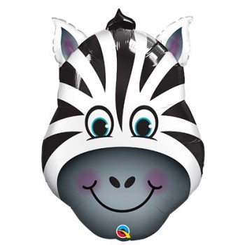 Palloncino Mylar Super Shape 58 cm. Zebra