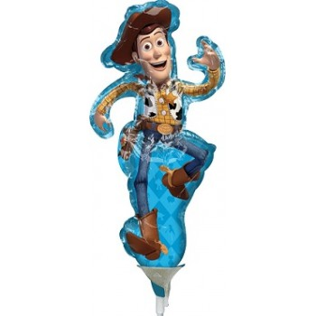 Palloncino Mylar Mini Shape 22 cm. Toy Story 4 Woody