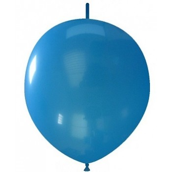 Palloncino in Lattice Link 32 cm. Blu