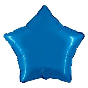 Palloncino Mylar 45 cm. Stella Blu